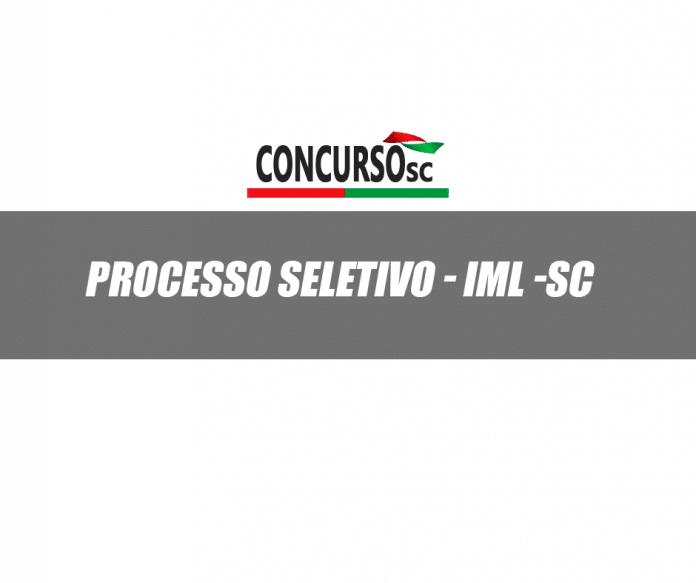 IML - SC divulga processo seletivo para 21 vagas