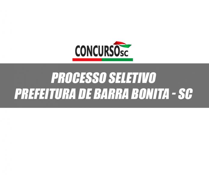 Prefeitura de Barra Bonita SC Processo Seletivo