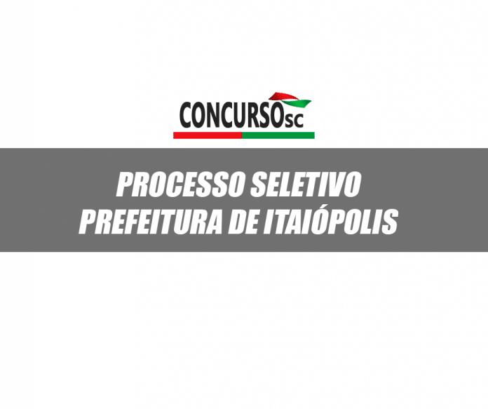 Processo Prefeitura de Itaiópolis
