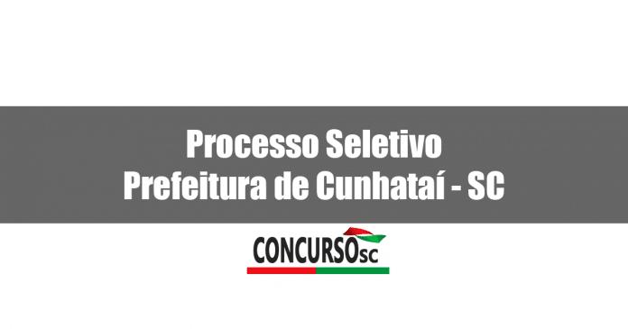 Processo Seletivo Prefeitura de Cunhataí - SC