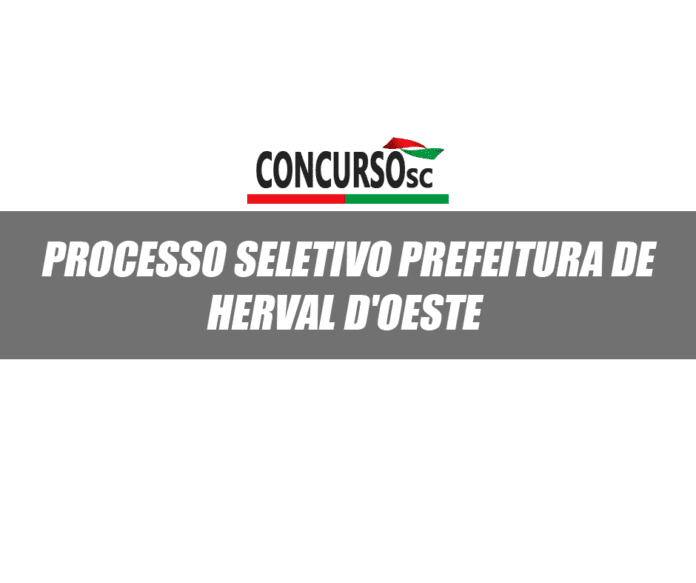Processo Seletivo herval do oeste