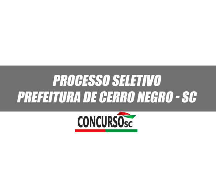 Prefeitura de Cerro Negro - SC
