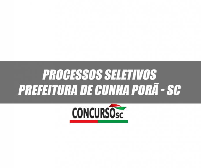 Prefeitura de Cunha Porã - SC