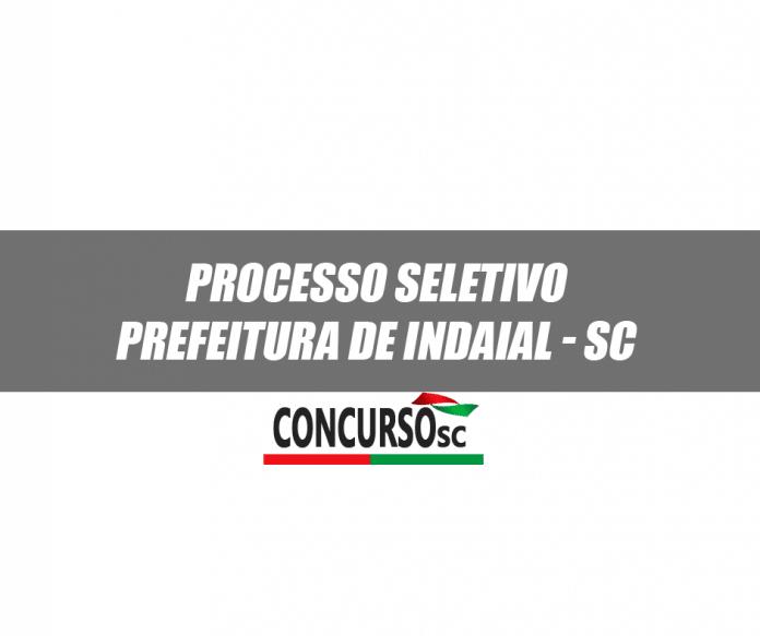 Novo Processo Seletivo é realizado pela Prefeitura de Indaial - SC