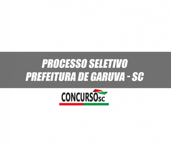 Prefeitura de Garuva - SC abre Processo Seletivo na área da Saúde