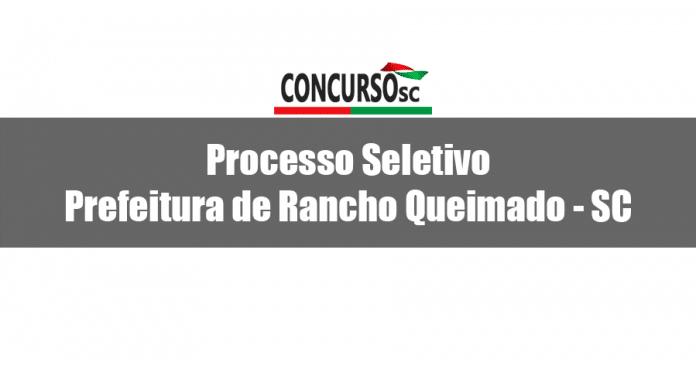 Prefeitura de Rancho Queimado - SC divulga Processo Seletivo