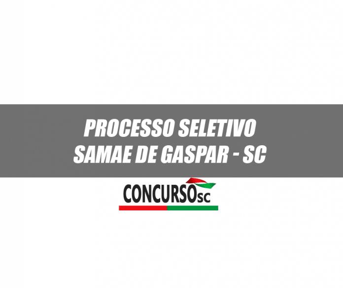 SAMAE de Gaspar - SC