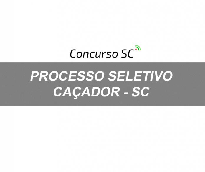 Prefeitura de Caçador em SC abre Processo Seletivo com salários de até R$ 3,1 mil
