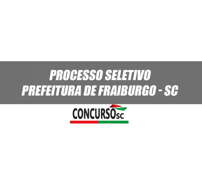 Processo Seletivo Fraiburgo SC