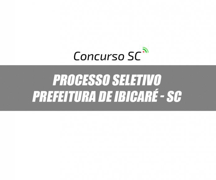 Prefeitura de Ibicaré - SC divulga Processo Seletivo de Nível Superior