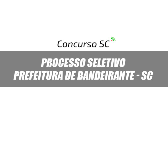 Prefeitura de Bandeirante - SC