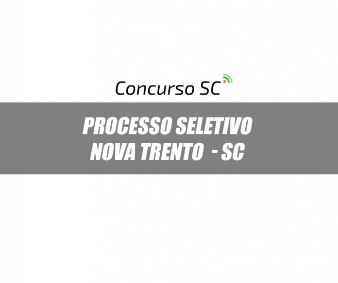 Prefeitura de Nova Trento - SC anuncia dois Processos Seletivos
