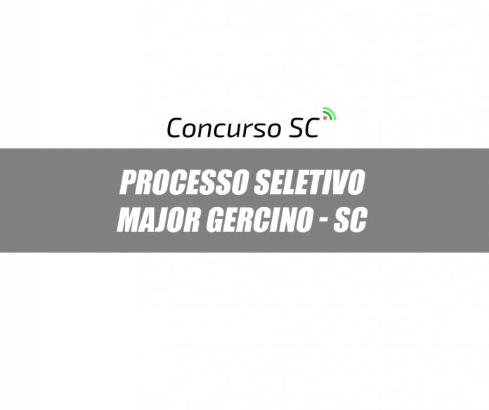 Processo Seletivo Prefeitura de Major Gercino – SC
