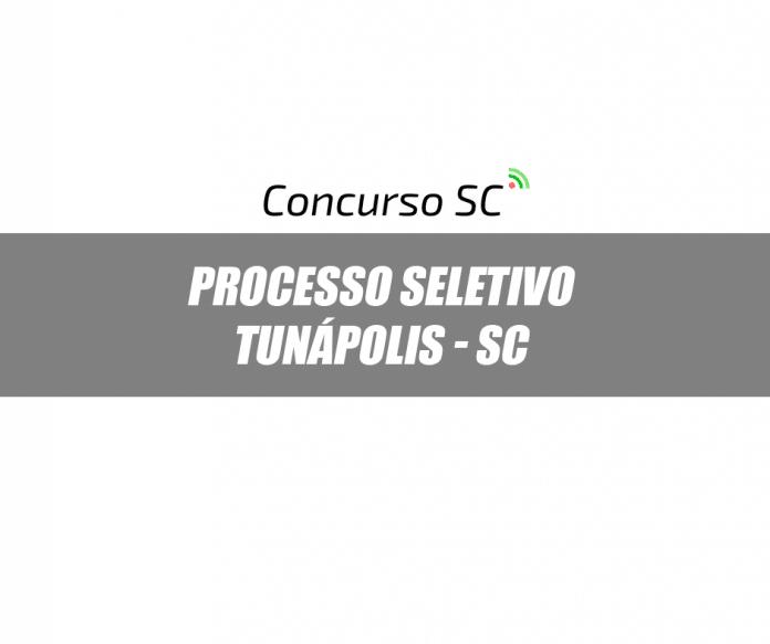 A Prefeitura de Tunápolis - SC abre processo seletivo