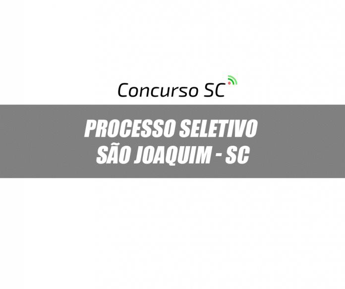 Prefeitura de São Joaquim - SC anuncia Processo Seletivo diversos cargos
