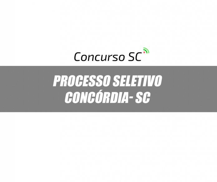 A Prefeitura de Concórdia - SC anuncia Processo Seletivo de Estagiários